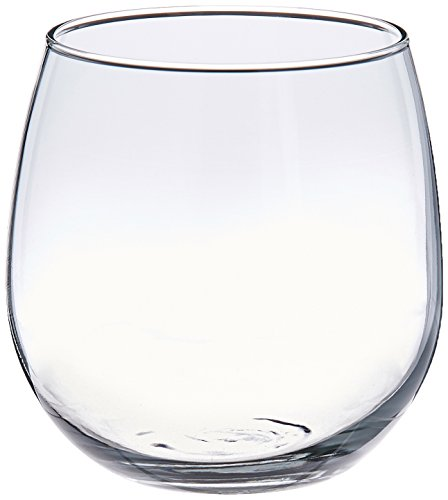 WineTools 20-Ounce Unbreakable Stemless Wine Glasses, Large (Set of 4)