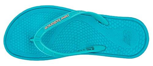 New Balance W6076, Zapatos de Playa y Piscina para Mujer Verde (Green)