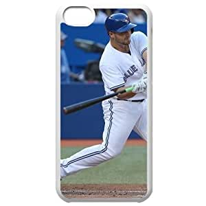 MLB Iphone 5C White Toronto Blue Jays cell phone cases&Gift Holiday&Christmas Gifts NBGH6C9126191