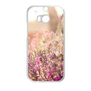 Aesthetic flowers design fashion phone case for HTC One M8