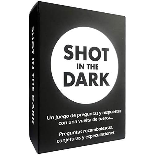 Shot in the Dark España (Juego de Cartas) - Preguntas rocambolescas, conjeturas y especulaciones a buen precio