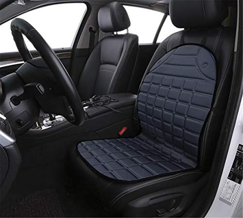 SPP PANDA Single Seat 12V Heating Car Seat Cushion Backrest Heating Cushion Electric Heating Pad Car Fiber Composite Material 9948cm 40°C-60°C - Car C60