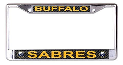 WinCraft Buffalo Sabres Carbon S49440 LIC PLT Frame S/L Printed
