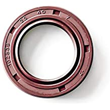 "1.500/""x2.375/""x0.375/"" Oil Shaft Seal 1 1//2/""x2 3//8/""x3//8/"" TC  Double lip w// Spring"