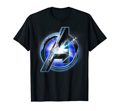 Marvel Avengers Endgame Tech Logo Graphic T-Shirt T-Shirt