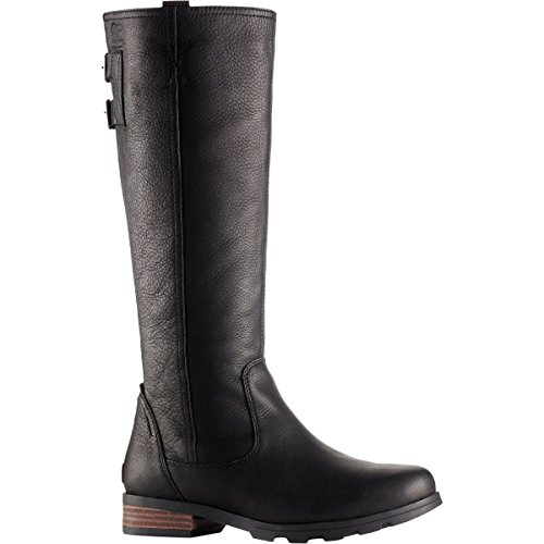 Black Women's 9 Emelie Tall SOREL Premium Waterproof Boots qwYA468