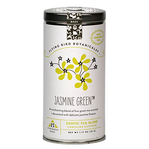 White Lemon Ginger Exotic Organic Fair Trade White Peony Tea Blend 15 Pyramidal Bags 33 g 1.17 oz ()
