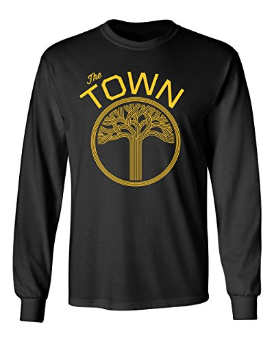 Golden State The Town Vintage Men's Long Sleeve T Shirt - Town Mens