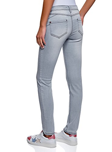 Blu Push Up Jeans Donna Oodji Ultra 7000w Skinny qSPUUx