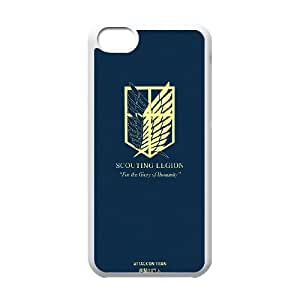 Attack On Titan iPhone 5c Cell Phone Case White 91INA91469700