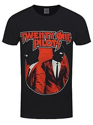 Twenty One Pilots Men39;s Incognito Black T-shirt