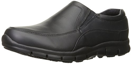 Skechers For Work Womens Sure Track Atrium Health Care And Food Service Shoe  Black  10 M Us