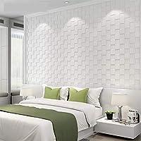 Placa 3d Espuma Adesiva Parede Mosaico Branco 7mm A Melhor!