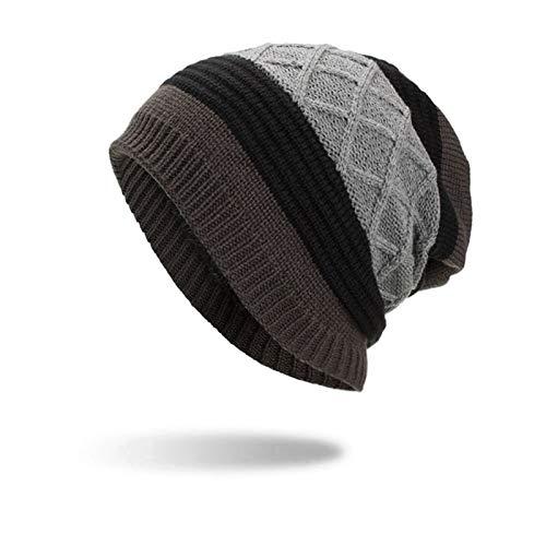 4b04c91ab80 Amazon.com  HOKUGA Beanies Knit Men s Winter Hat Caps Skullies Bonnet  Winter Hats For Men Women Beanie Warm Baggy Outdoor Sports Hat Fleece   Beauty