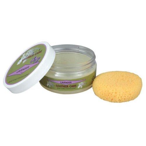 MOSS Saddle Soap - 7oz Jar - Tea Rose (Glycerin Saddle Soap)