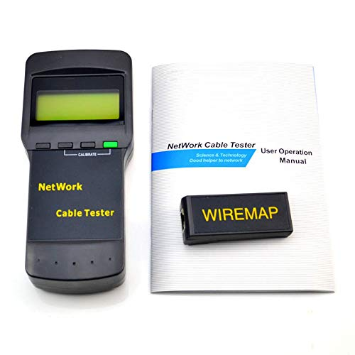 twbbt Cable Network LAN Coaxial Wire Length Digital Tester for SC8108 CAT5 RJ35 Network