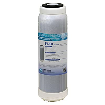 "APEC Water Systems Mixed Bed Deionization Cartridge 10"" (FI-DI)"