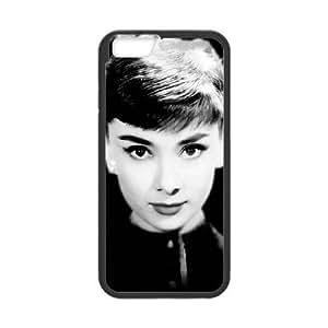 iPhone 6 Plus 5.5 Inch Phone Case Black Audrey Hepburn F6529826