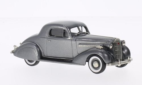 Buick Special sport Coupe M-46S, metallic-grey, 1936, Model Car, Ready-made, Brooklin - Car 46s