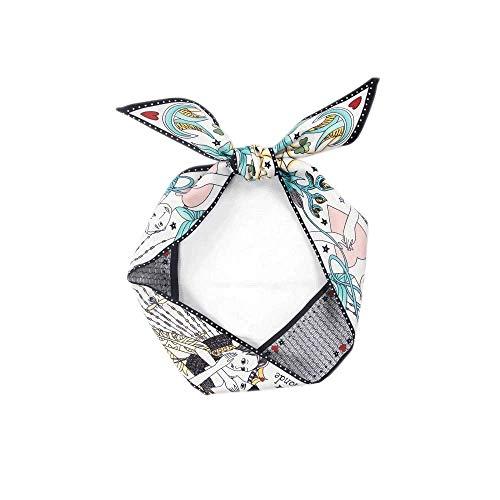 Chic Versatile Tarot Narrow Silk Ribbon Scarf Neckerchief Bag Handle Wrap Scarf Hair Sash Sweet Gift (Lovers 1 pc)