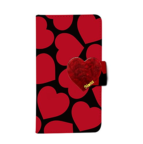 (Galaxy S8 Active (+) flip case dia-043 (Truffle Heart) Wallet Case Kickstand Slim Fit Heavy Duty Protection Screen Protector Tortoiseshell Valentine's Love Verizon AT&T Sprint T-Mobile)