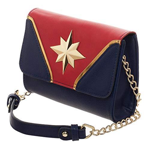 Price comparison product image Captain Marvel Purse Avengers Bag Captain Marvel Accessory Avengers Purse