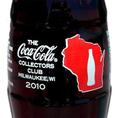 The Coca-Cola Collectors Club Annual Convention Milwaukee Bottle 2010 from Coca-Cola