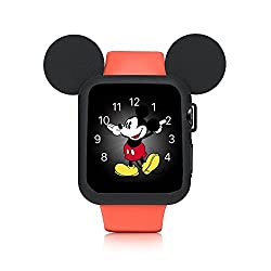 Apple Watch 38mm Case, Zryxal Iphone Watch Protective Premium Tpu Cover Case For 38mm Iwatch Apple Watch Nike+, Series 3, Series 2, Series 1, Sport, Edition - Black