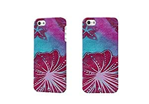 Diy design iphone 6 (4.7) case, beautiful purple flowers Photo Plastic Hard Customized Personalized 3D Case For iPhone 6