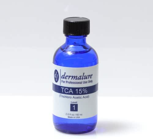 Trichloroacetic Acid - TCA Peel 15% Medical Grade 1oz. 30ml (Level 1 pH 1.4)