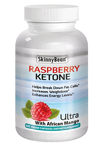 Keto Raspberry, Plus Ketones Potent Fat Burner Capsules Plus African Mango Extract Powder for Weight Loss Diet Pills with Grape Seed & Apple Cider ()
