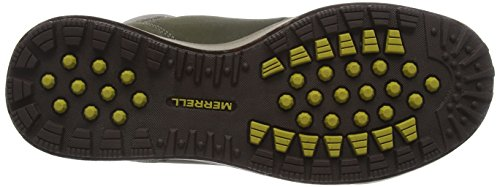 Merrell Turku Trek Waterproof, Zapatos de High Rise Senderismo para Hombre Verde (Dusty Olivedusty Olive)