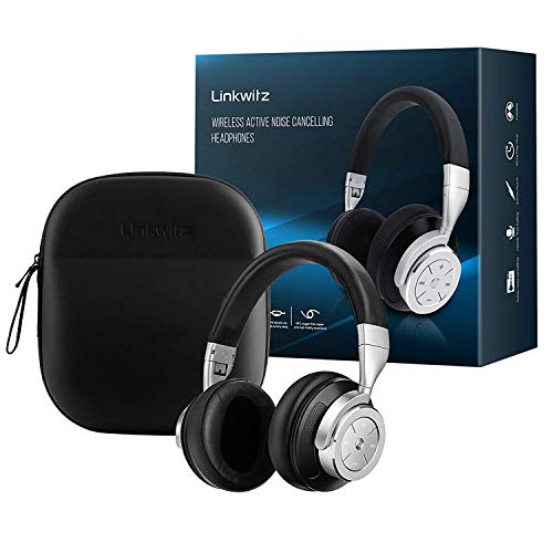 1e92aef23e0 Noise Cancelling Bluetooth Headphones Wireless - Over ear Headset with  Powerful Bass and HiFi Stereo Sound and ,16 Hours Playtime for Music Air  Travel, ...