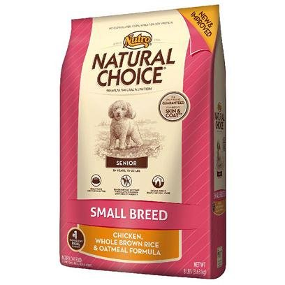 Natural Choice Dog Small Breed Senior Dog Food, 4-Pound, My Pet Supplies