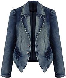 Amazon.com: XXL - Denim Jackets / Coats Jackets &amp Vests: Clothing