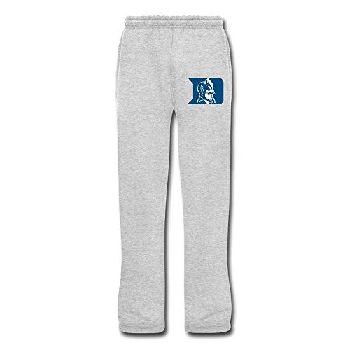 - Bamwind Man Duke Blue Devils Fleece Pants Customized Retro XXL Ash