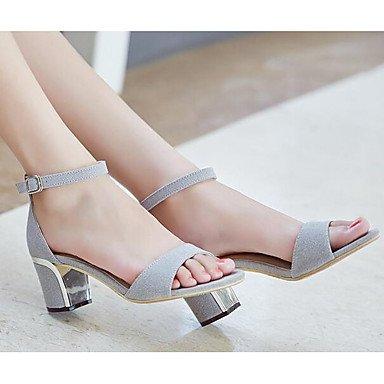 LvYuan Flat Spring 5 5 Comfort uk6 us8 Casual Black eu39 cn40 Gray Heels gray ggx Women's Suede Comfort pvgpr4