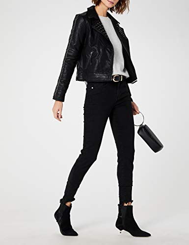 Mujer Chaqueta 001 Bomber Esprit Negro Para black 4twv87qxF