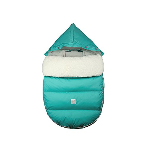 7 A.M. ENFANT Lamb Pod for Strollers and Car-Seats, Teal, Small/Medium