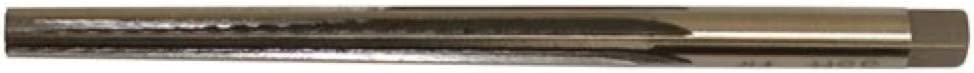 Alfa Tools TPR3027 Size 11 High-Speed Steel Taper Pin Reamer Straight Flute Right Hand