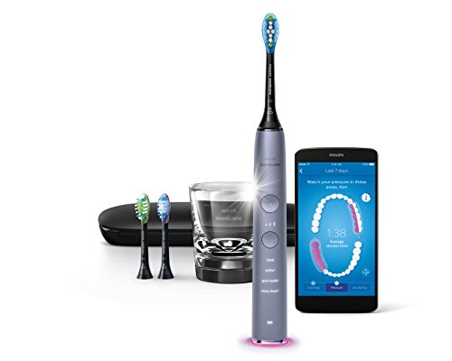 Philips Sonicare Diamondclean Smart-9300 Series Sonic Electric Toothbrush with Bluetooth & App - Grey, 1.22 Pound by Philips Sonicare (Image #1)