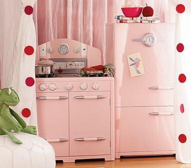 Amazon.com : Pottery Barn Kids Pink Retro Kitchen Oven ...