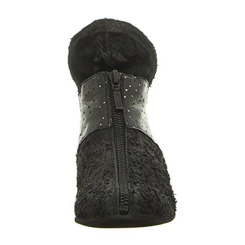 Para De Elfy Negro Mujer Papucei Botas Piel Black qXwqS74