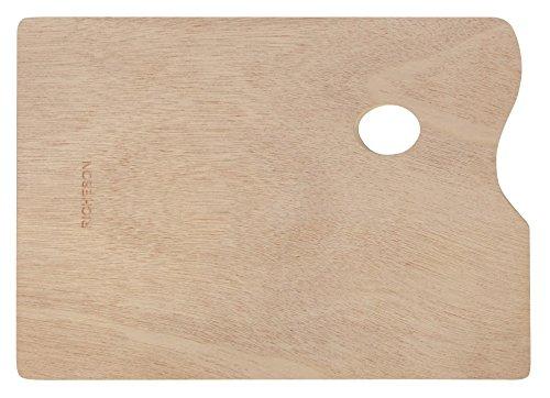 Jack Richeson 696039 Wooden Rectangular Palette, 10'' x 14'' by Jack Richeson