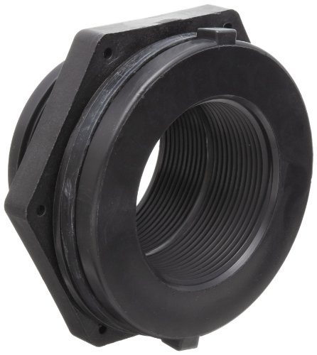 Npt Hole - Dixon 60405 Polypropylene Pipe and Welding Fitting, Bulkhead, 2