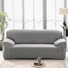 CXYY Tight towel full sofa sofa set non-slip elastic fabric sofa set (coffee/Burgundy) , loveseat