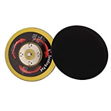 Valianto 4.5-inch Hook&Loop Backing Pads Polishing Disc with 4 Nail, Pack of 5 PCS