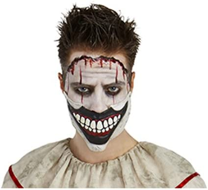 American Horror Story Show TWISTY THE CLOWN Face Adult Long Sleeve T-Shirt S-3XL