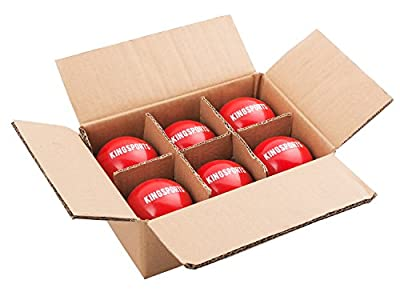 "KingSports 2.8"" Weighted Training Baseballs - Weighted Training Equipment for Baseball - 16oz (6 pack)"