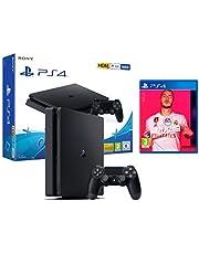 PS4 Slim 500gb schwarz Playstation 4 Konsole + FIFA 20
